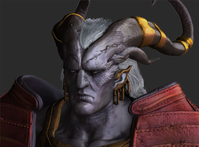 Arishok of Dragon Age 2 Zbrush 2