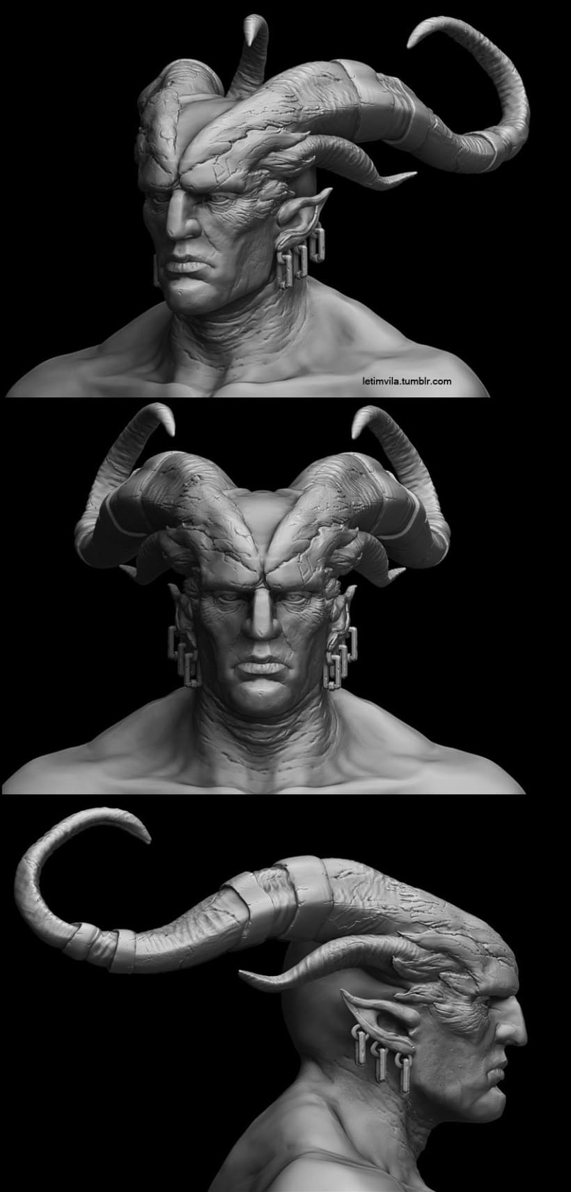 Arishok of Dragon Age 2 Zbrush 4