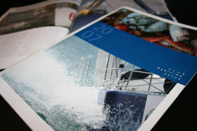 Revista-anuario Club Marítimo 1