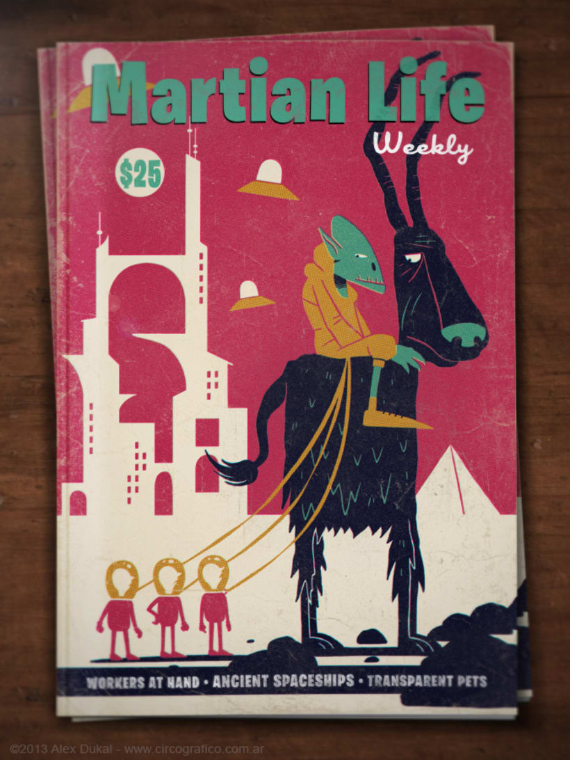 Martian Life 5