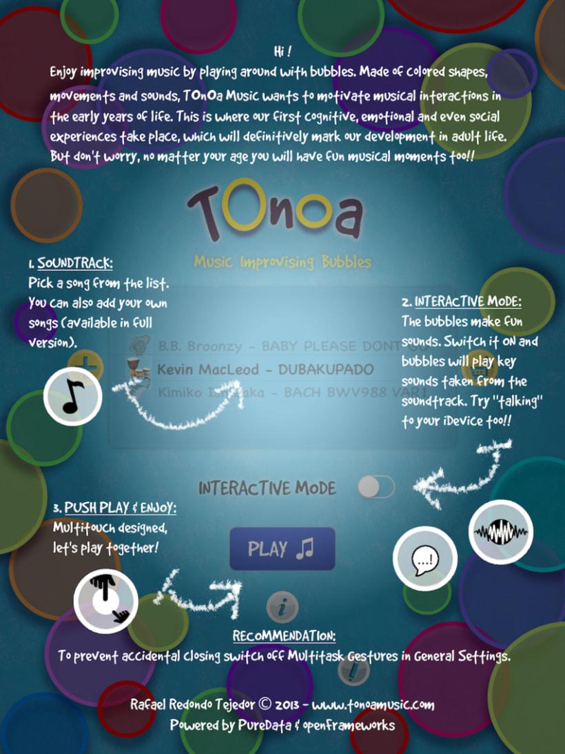TOnOa Music - improvising music app 3