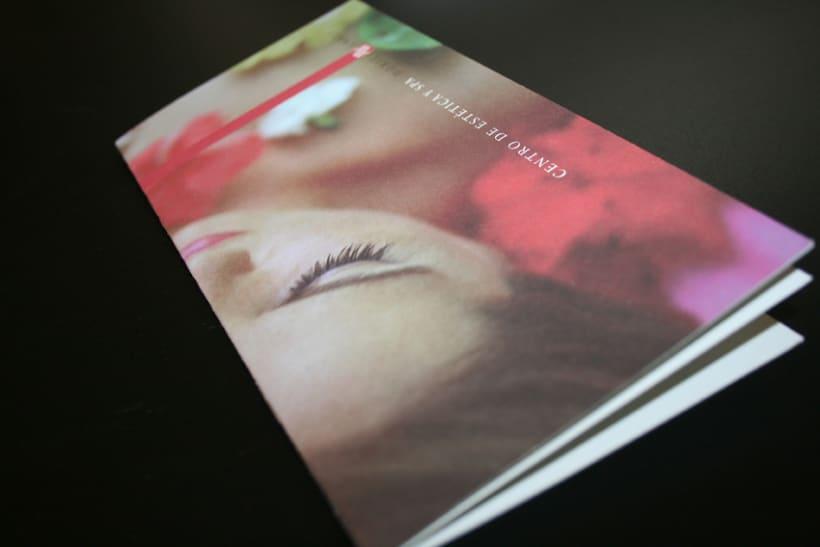 Catálogo para centro de estética 1