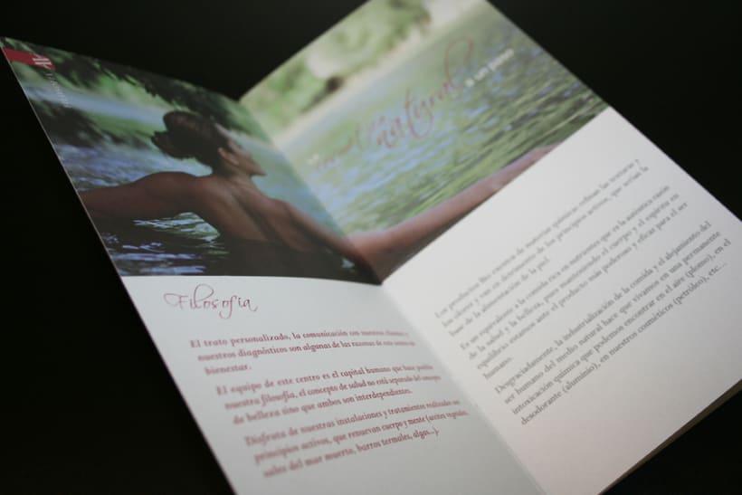 Catálogo para centro de estética 2
