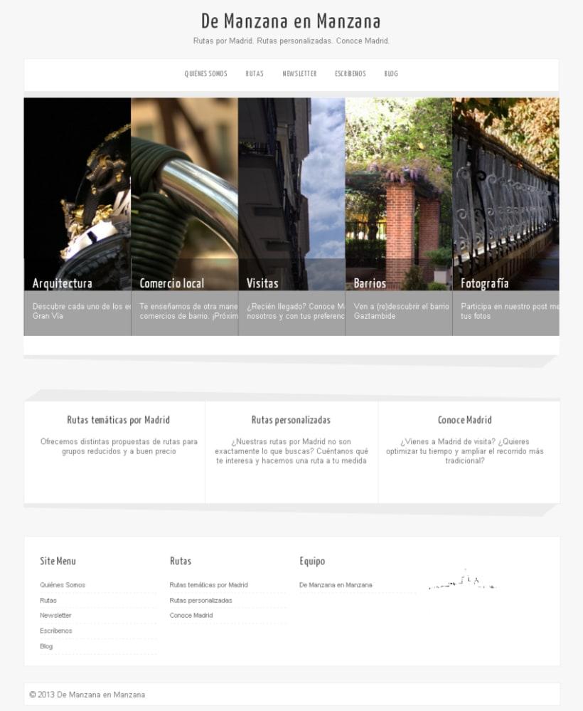 Web De Manzana en Manzana -1