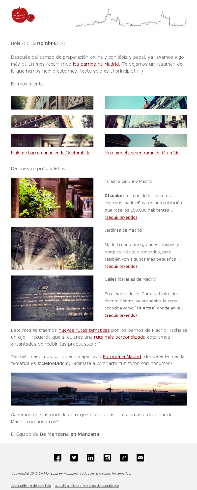 Newsletter De Manzana en Manzana -1