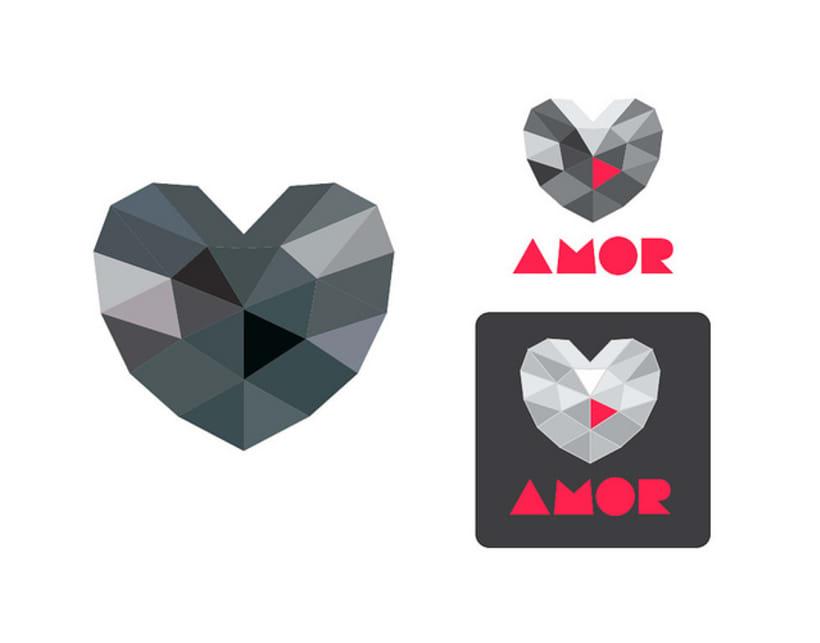 Logo Amor / Desamor 6
