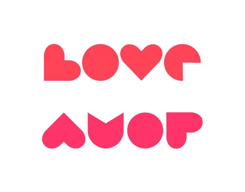 Logo Amor / Desamor 1