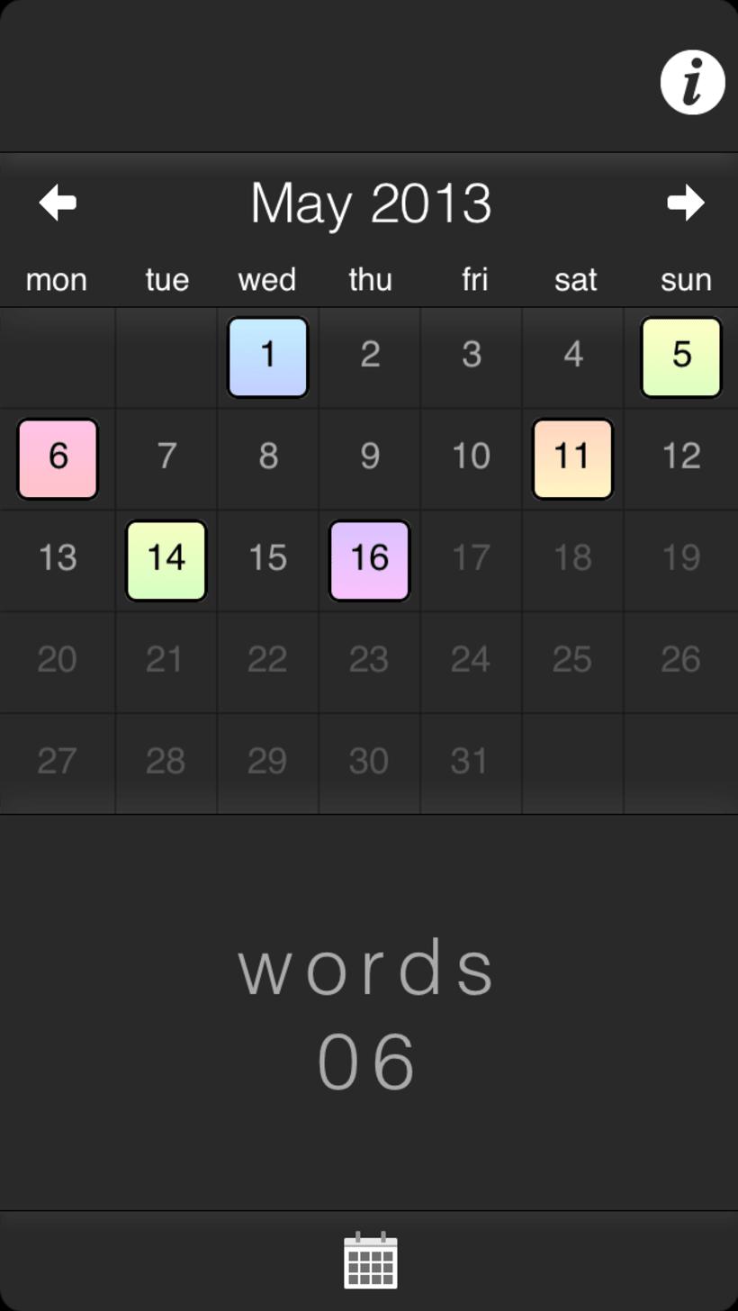 Word Diary 2