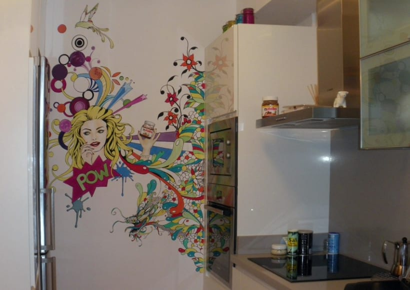Interiorismo Cocina pop art 0