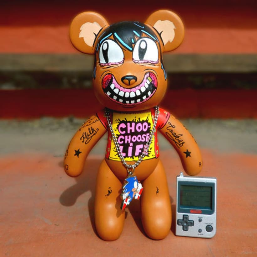 Custom Art Toy - Muñeco personalizado 3
