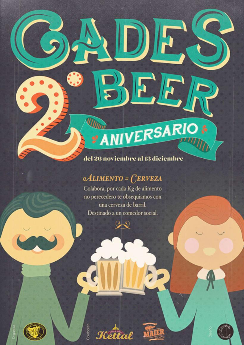 Gades Beer 2º Aniversario -1