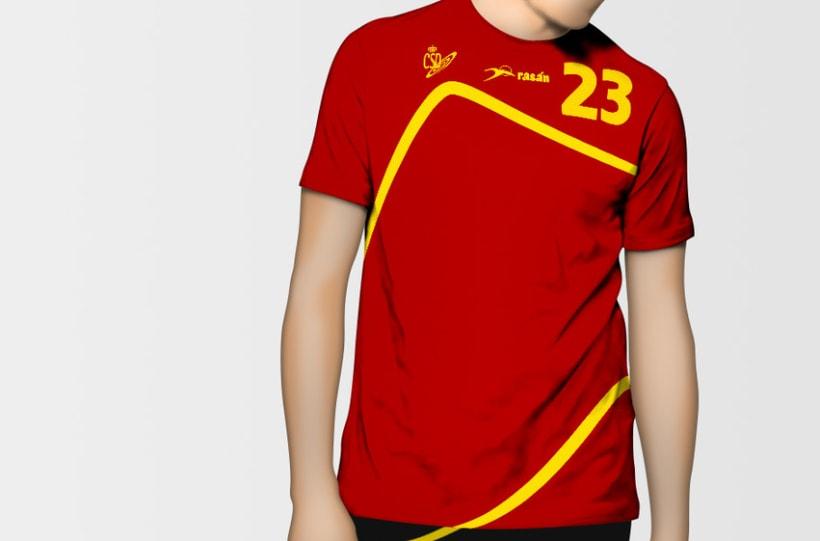 Camiseta Selección Española de Balonmano 0