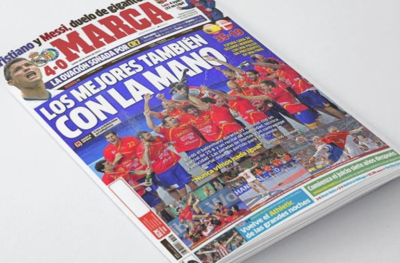 Camiseta Selección Española de Balonmano 5