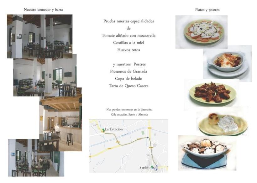 Tripticos ,flyer y publicidad. 5