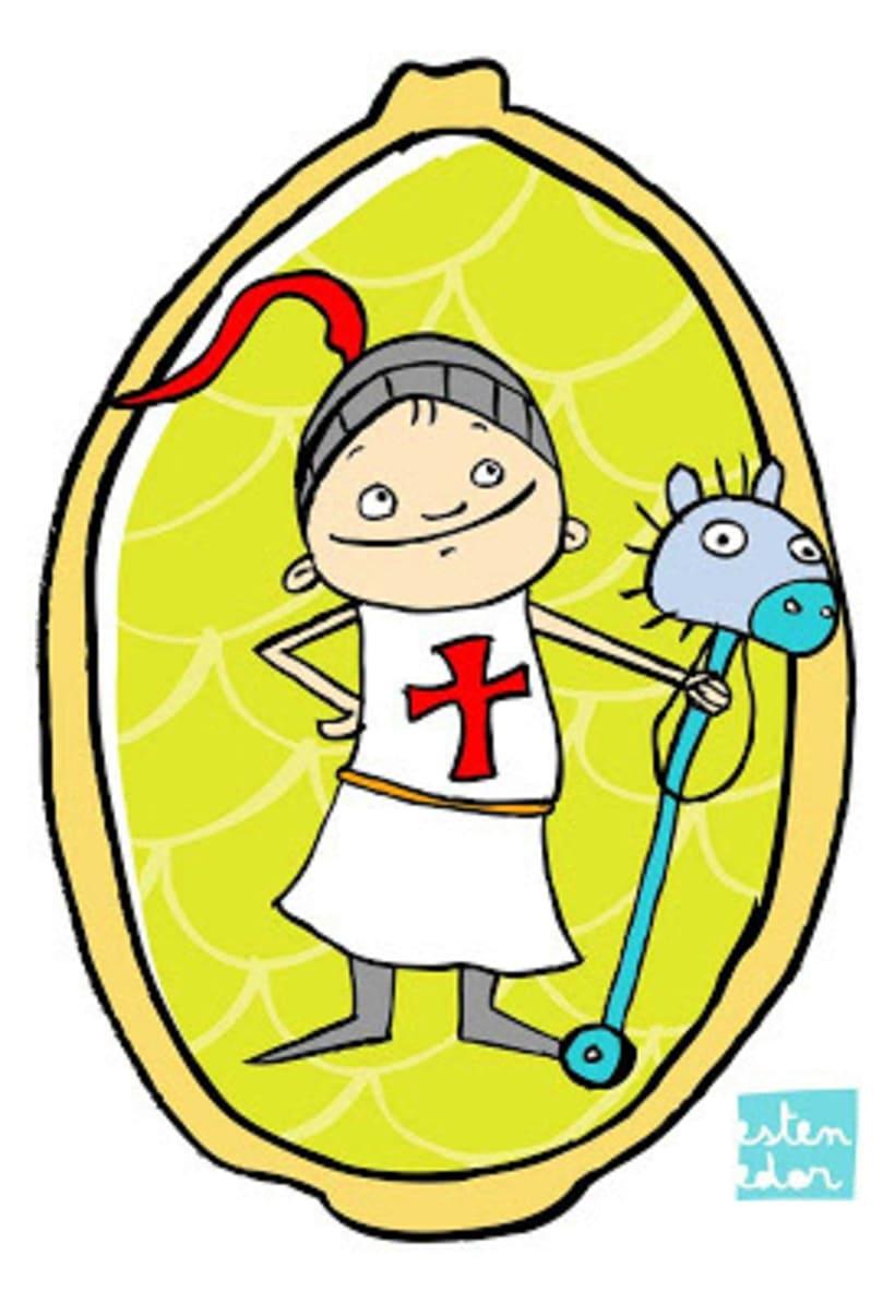 Sant Jordi - L'estenedor 3