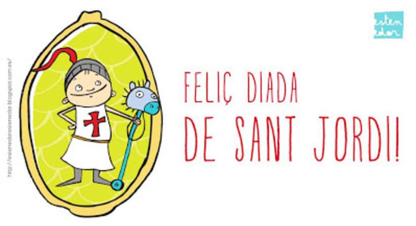 Sant Jordi - L'estenedor 2