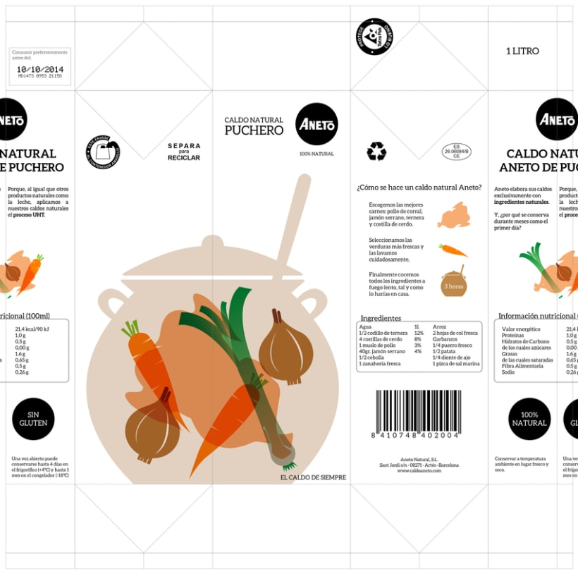 Rediseño Packaging Caldo Aneto 8