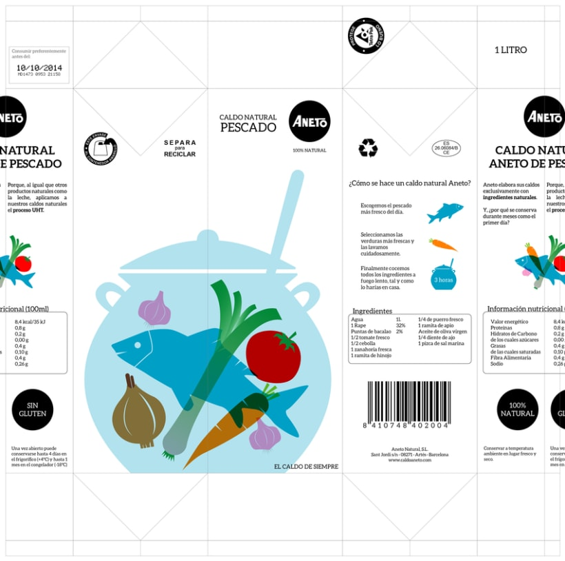 Rediseño Packaging Caldo Aneto 9
