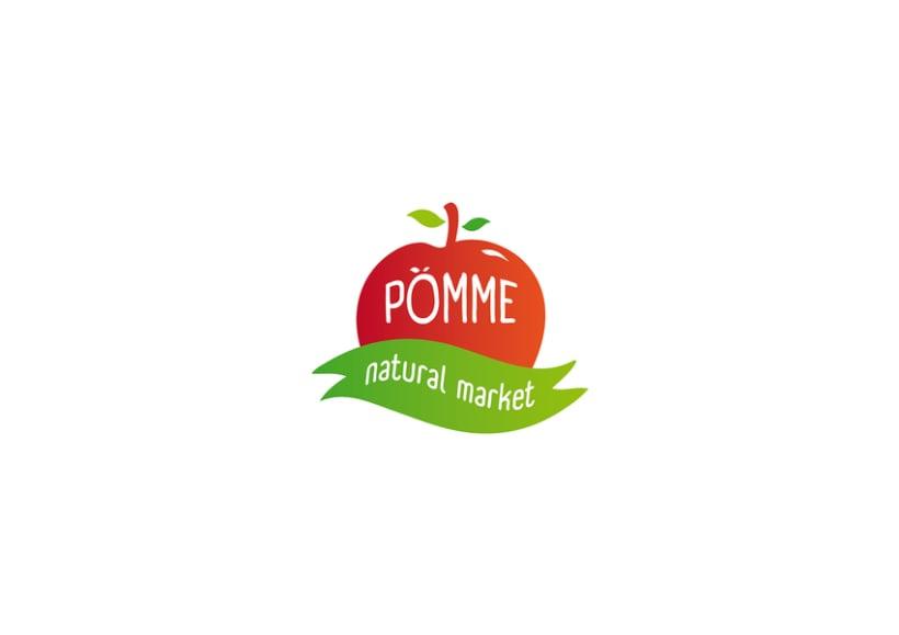 Propuestas de Logo para Pomme 1
