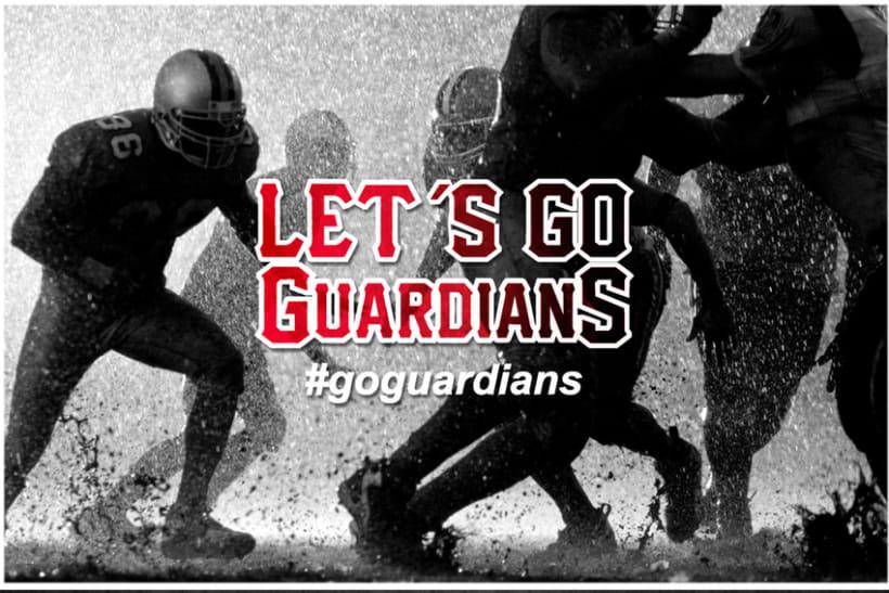 Propuesta de Logo para Equipo de Fútbol Americano Vigo Guardians 1