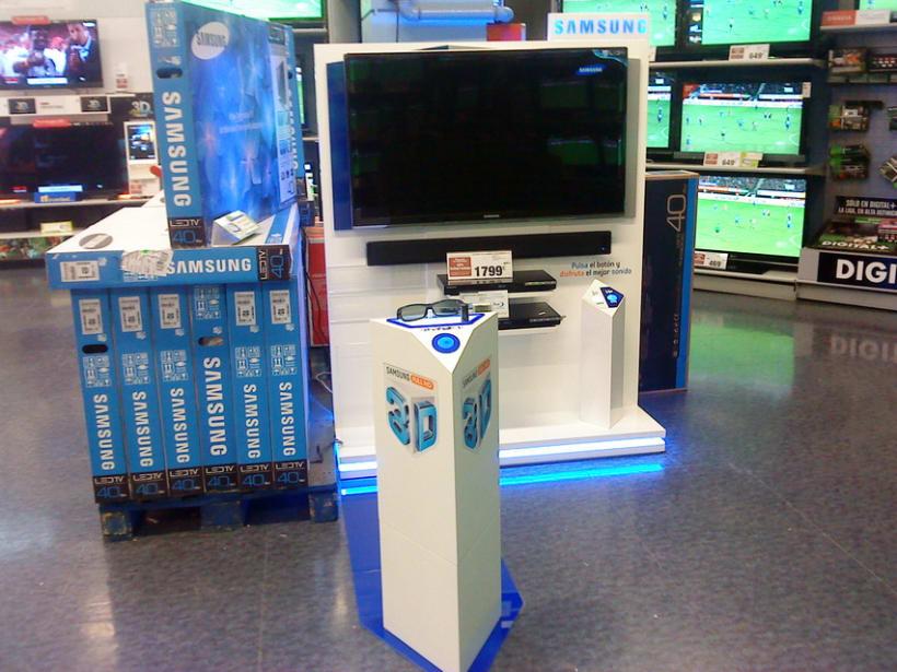 TV SAMSUNG 3D 3