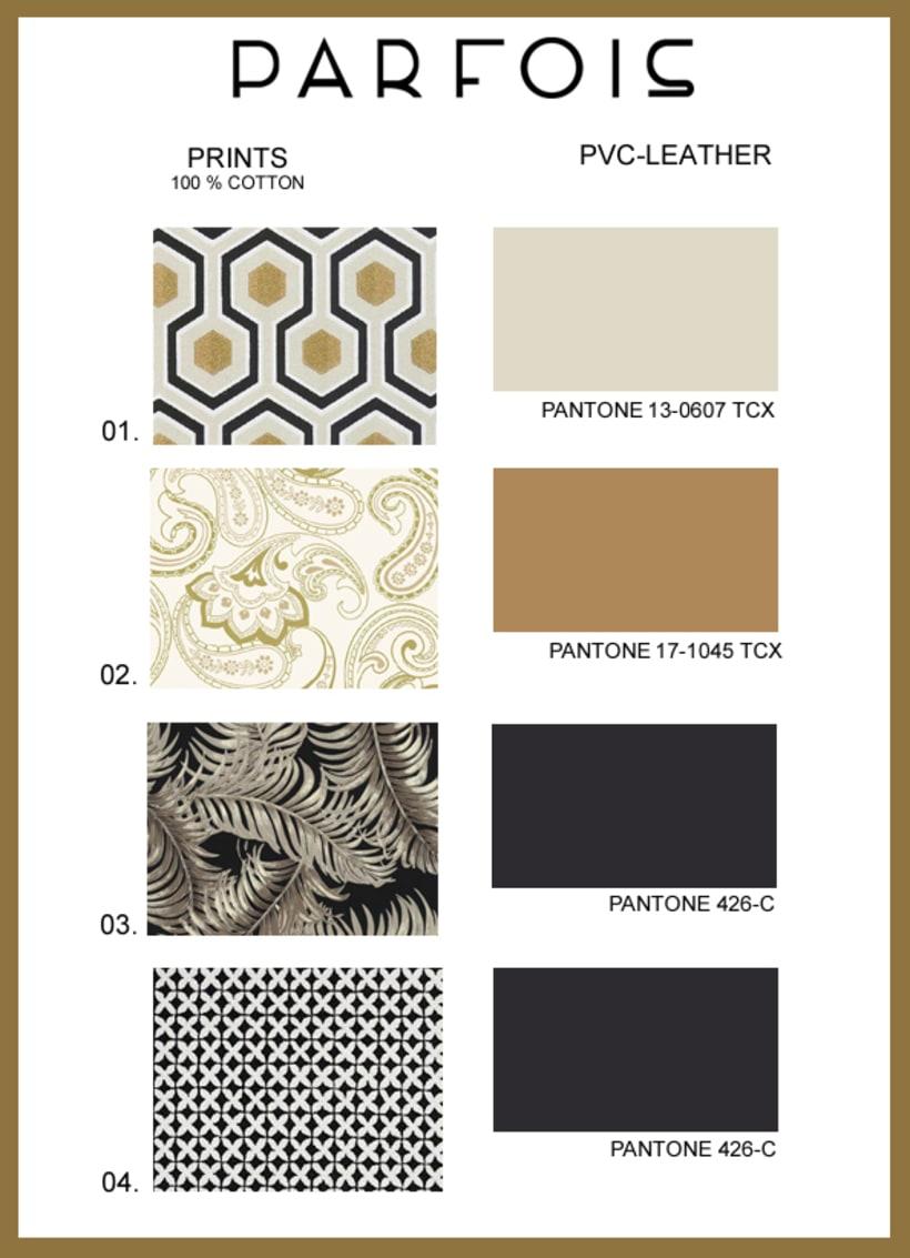 Proyecto para la firma PARFOIS: 'QUICKSAND' Moda 2