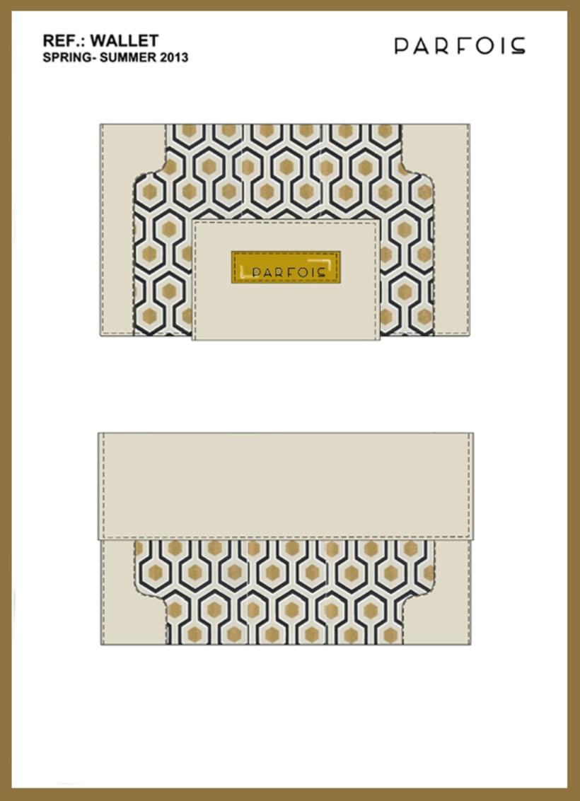 Proyecto para la firma PARFOIS: 'QUICKSAND' Moda 3