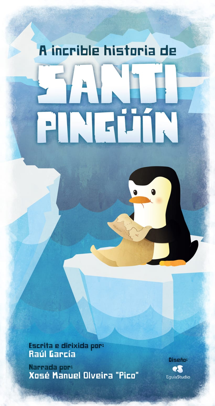 Cartel Cortometraje Santi Pinguín -1