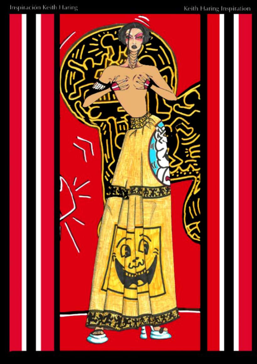 Inspiración: Keith Haring Moda 0