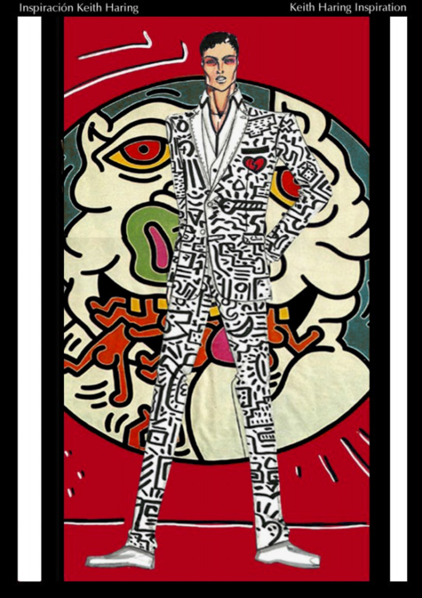 Inspiración: Keith Haring Moda 1
