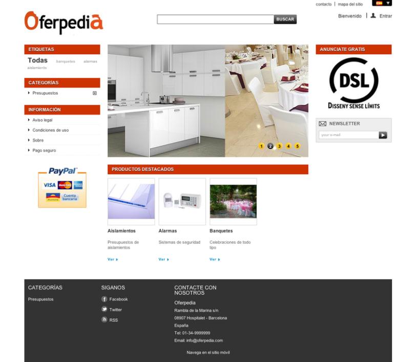 Oferperdia (tienda virtual de ofertas profesionales) 1