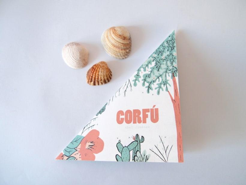 Corfú - Fanzine para niños 1