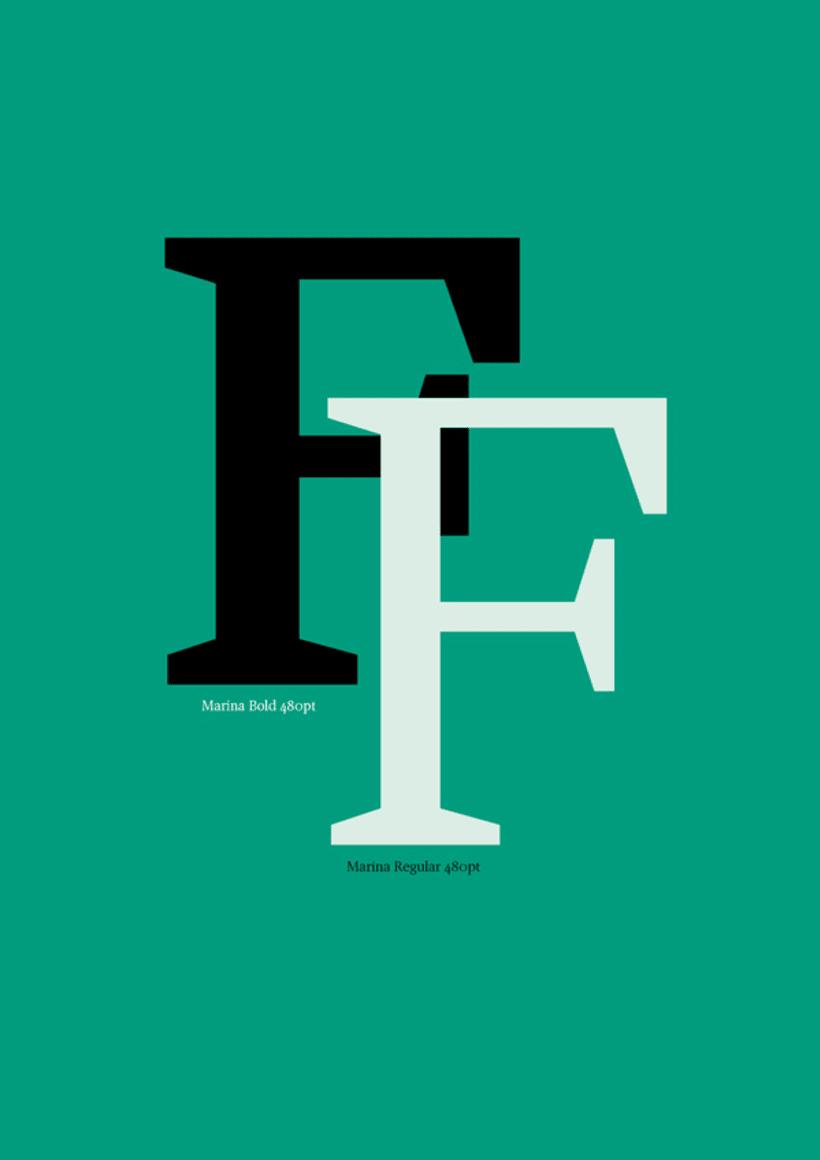 Marina (typeface) 3