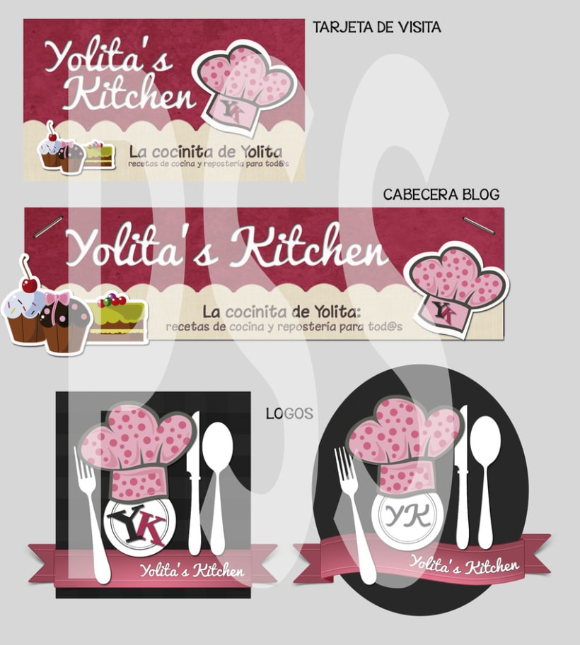 Logo y cabecera blog Yolita's Kitchen 3