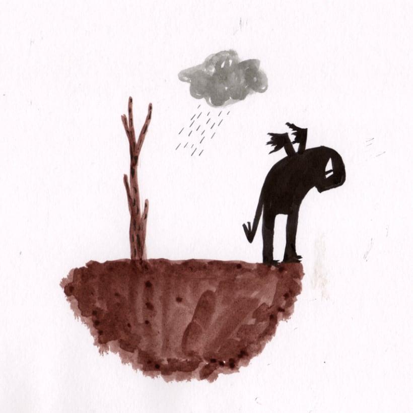 #everydaINK |Una ilustración a tinta durante 46 días 5