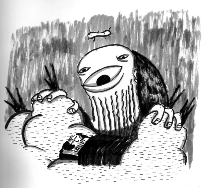 #everydaINK |Una ilustración a tinta durante 46 días 14