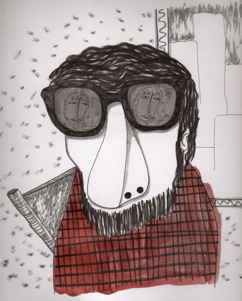 #everydaINK |Una ilustración a tinta durante 46 días 15