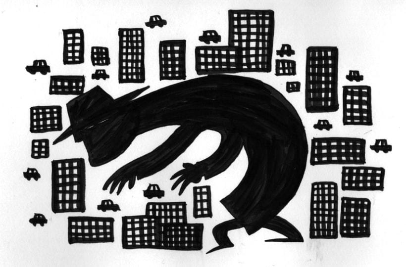 #everydaINK |Una ilustración a tinta durante 46 días 18