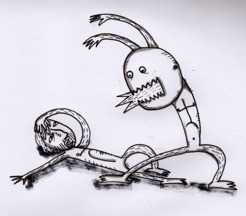 #everydaINK |Una ilustración a tinta durante 46 días 19