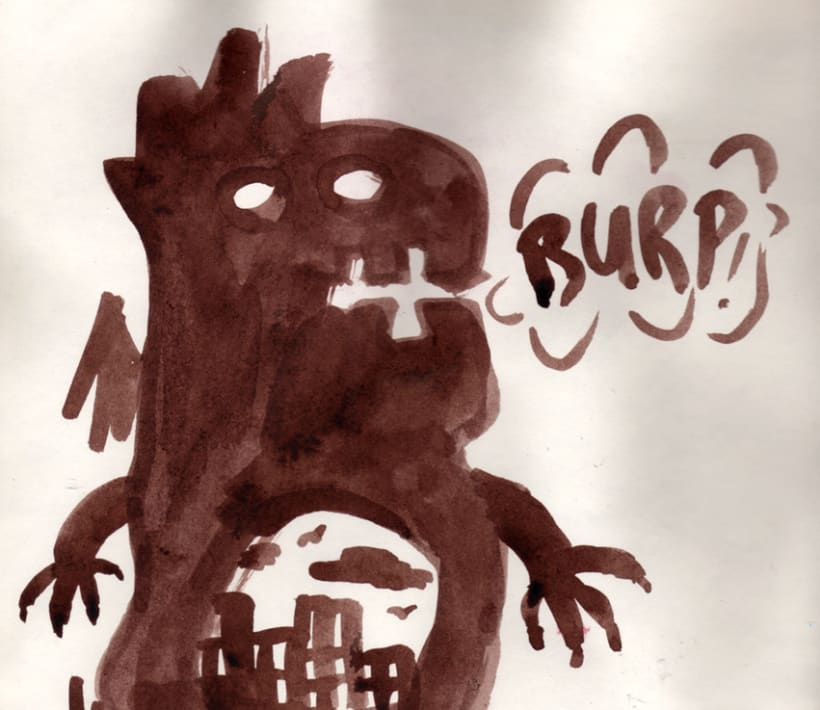 #everydaINK |Una ilustración a tinta durante 46 días 20