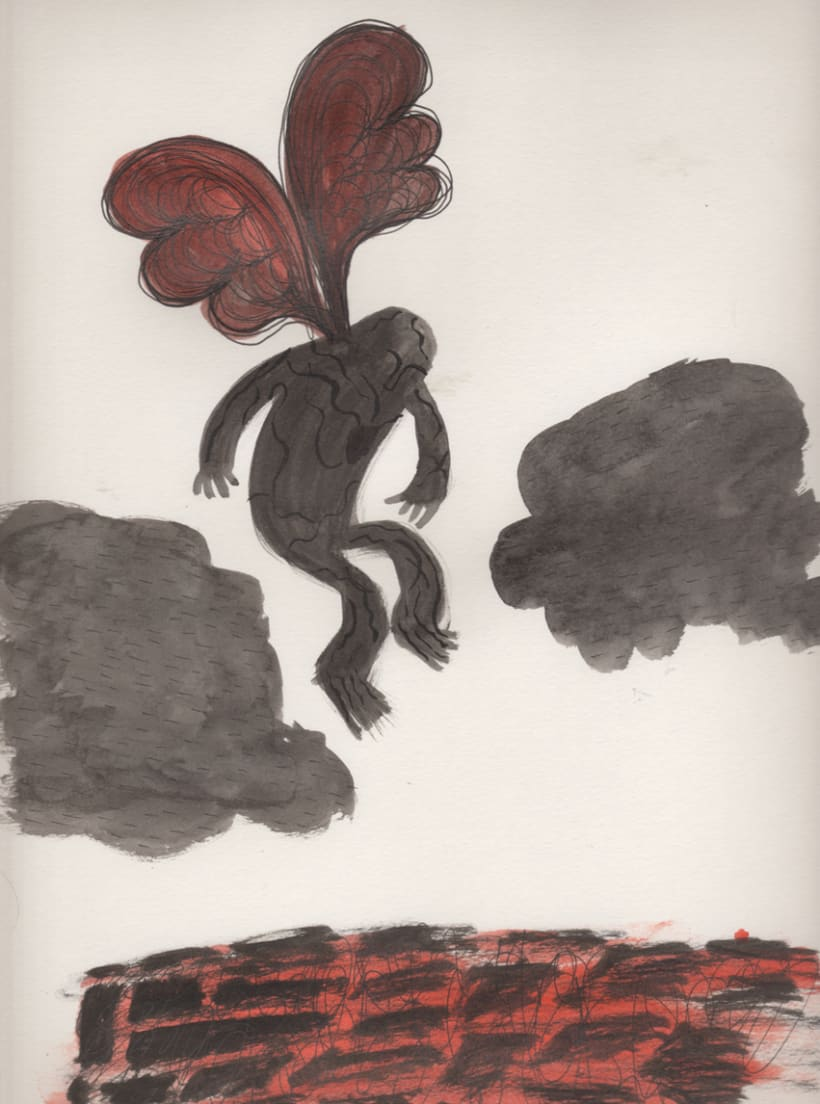 #everydaINK |Una ilustración a tinta durante 46 días 23