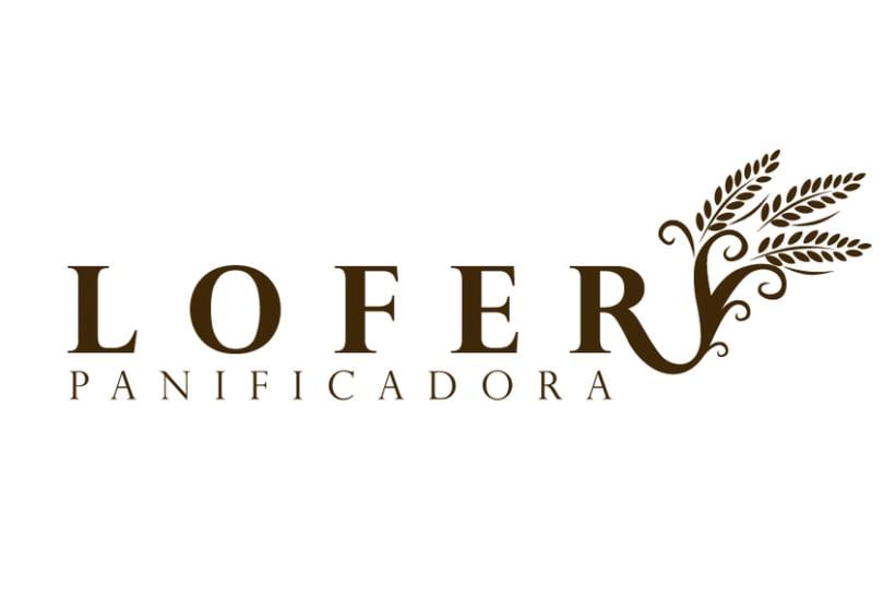 Identidad panadería Lofer 1