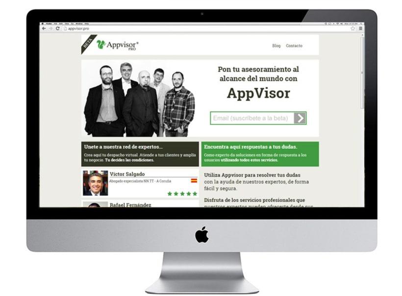 Imagen corporativa y aplicaciones Appvisor 1