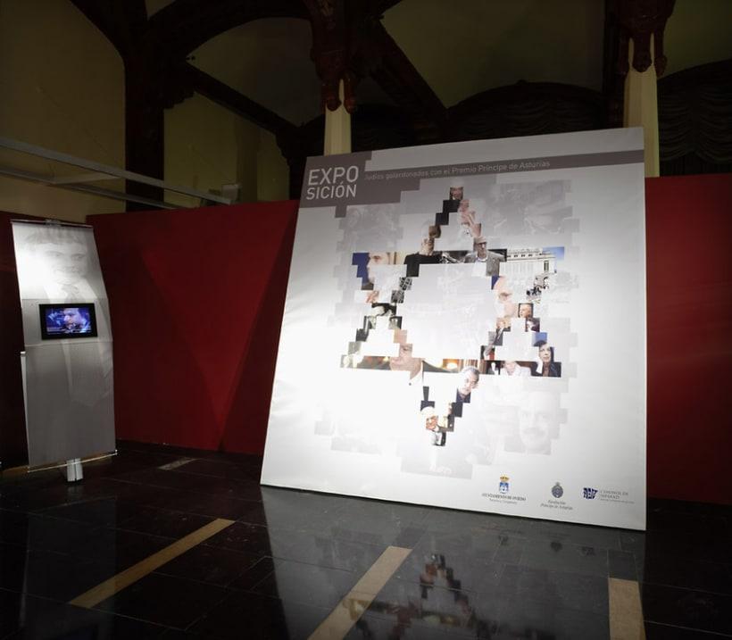 """Exposición """"Judíos galardonados con el Premio Príncipe de Asturias"""" 5"""
