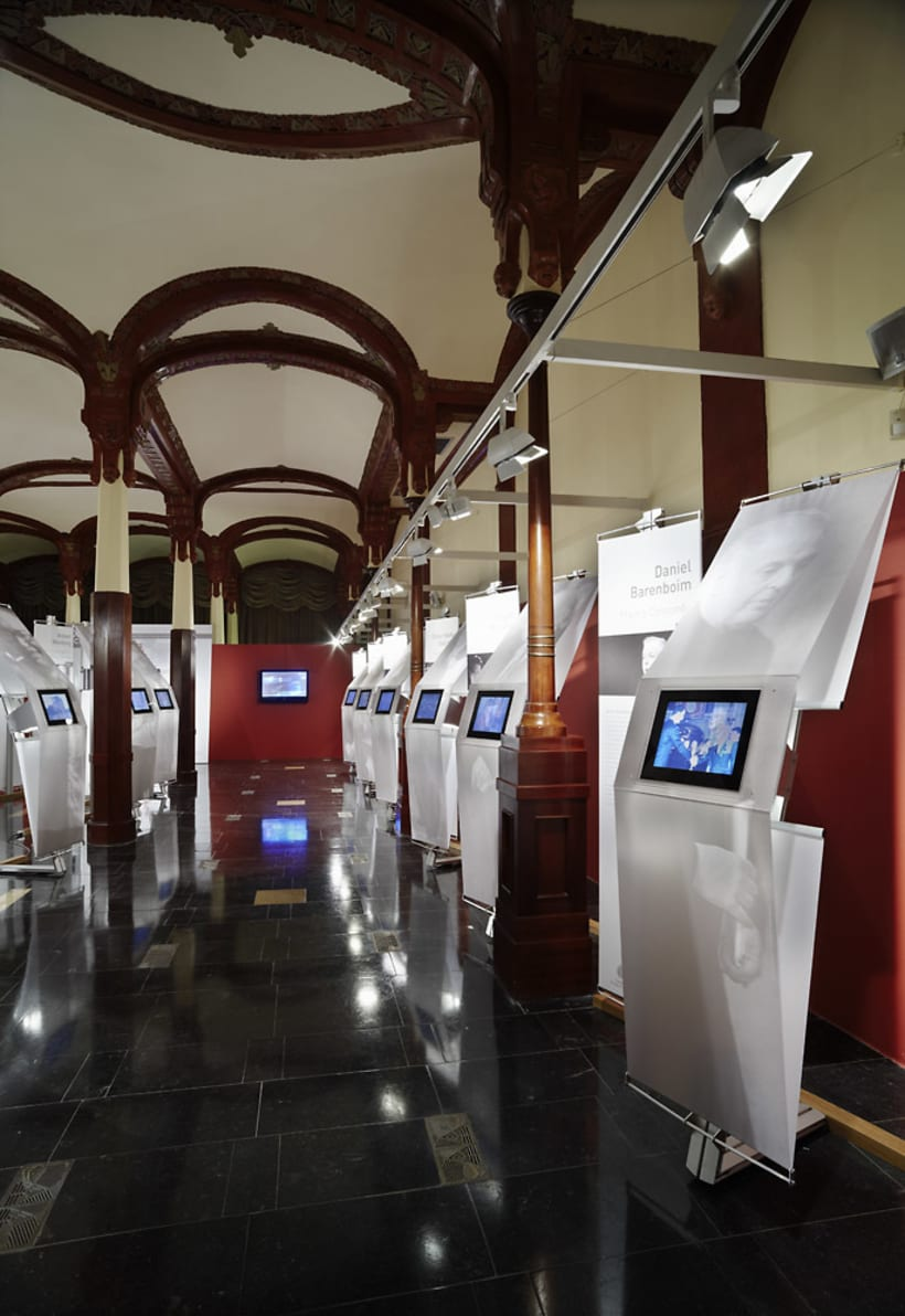 """Exposición """"Judíos galardonados con el Premio Príncipe de Asturias"""" 6"""