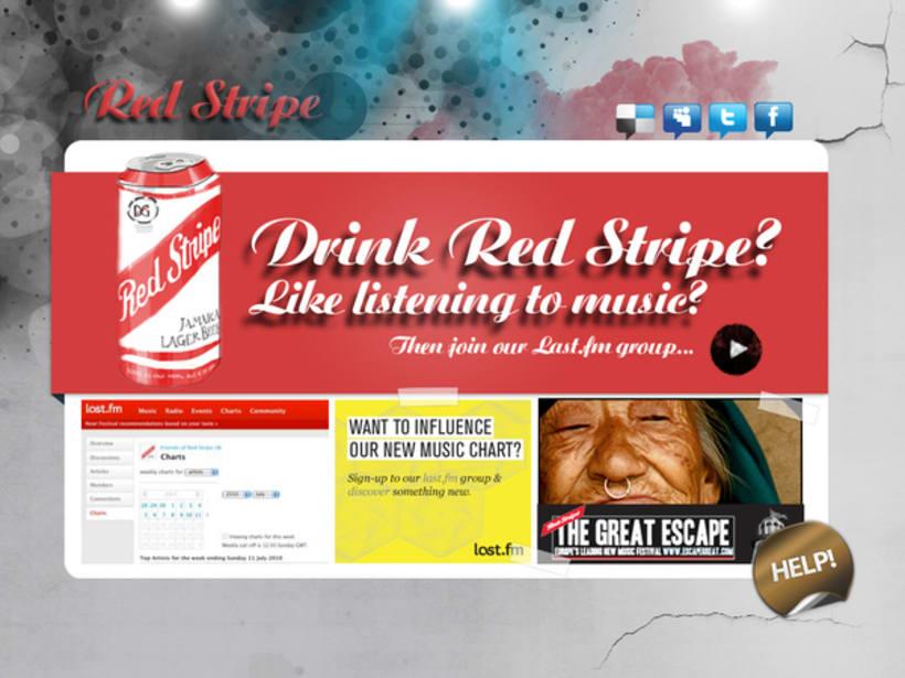 RED STRIPE MICROSITE 0