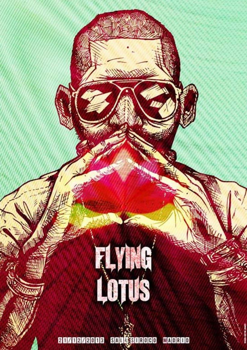 Fliying Lotus Tribute Poster 0