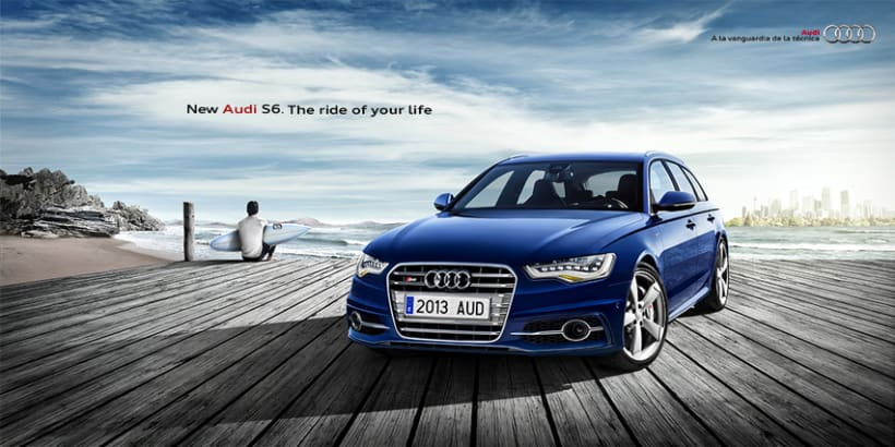 Audi S6. The ride of your life 1