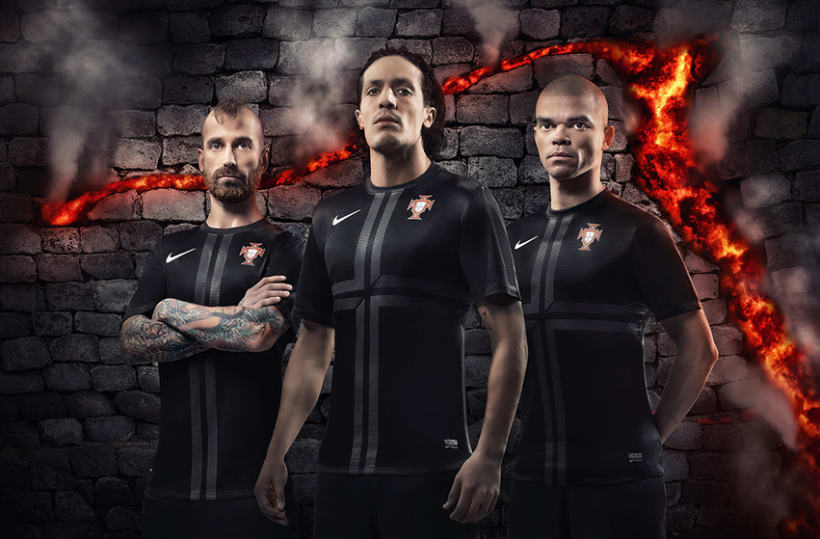Nike Portugal away kit 1