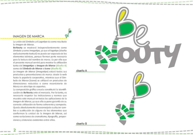 Identidad Visual BeNouty 4